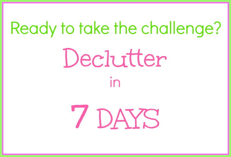 Declutter in 7 Days - Real: The Kitchen and Beyond