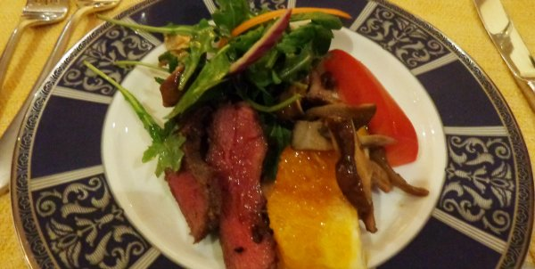 Deconstructed Flank Steak Salad