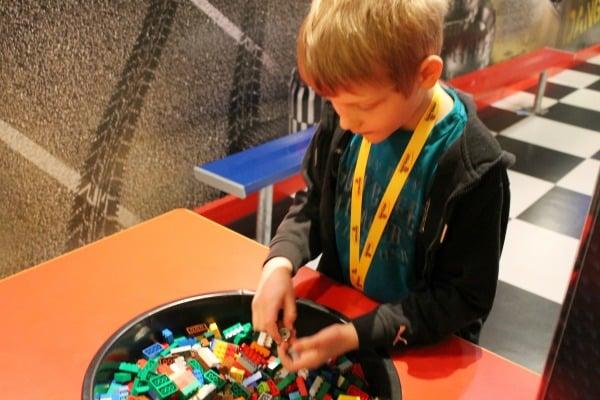 LEGO Racer building