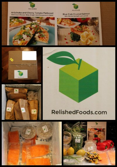 Relished Foods Collage