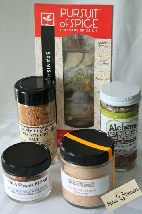SpicePanda Subscription Box Spices