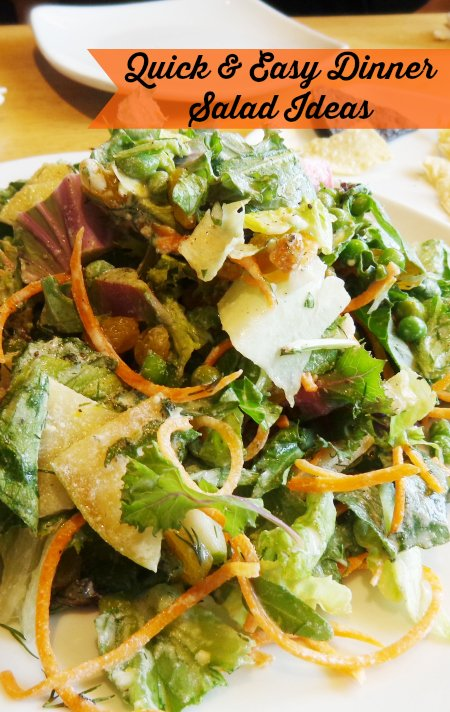 quick and easy dinner salad ideas