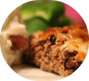 Black Bean and Salsa Meatloaf