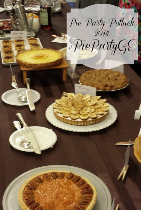 Pie Party Potluck 2014