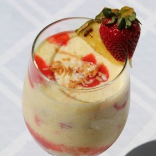 Strawberry Pina Colada