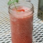 Sweet and Spicy Watermelon Gazpacho Mary
