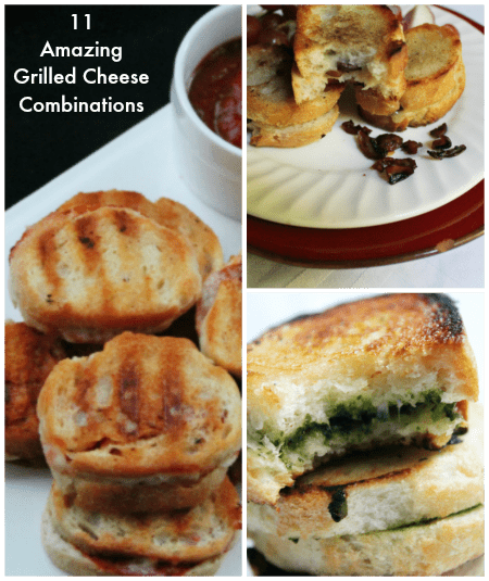 11 grilled cheese recipes with pictures of grilled cheese