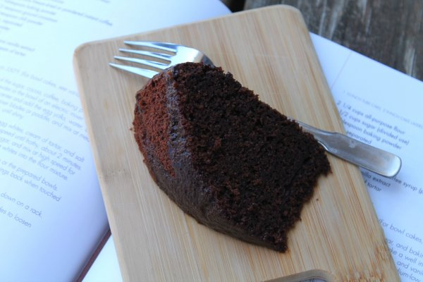 Chocolate Spiced Chiffon Cake