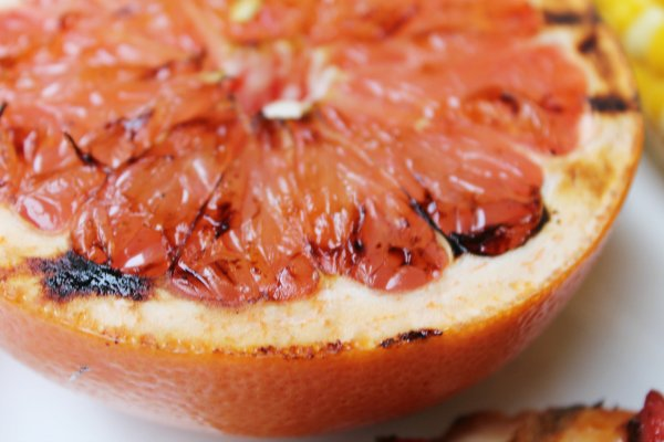grilled grapefruit