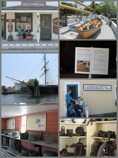 mystic seaport collage