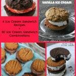 30 Ice Cream Sandwich Combinations