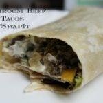 Mushroom Beef Tacos