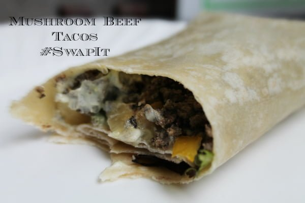 Mushroom Beef Tacos #SwapIt
