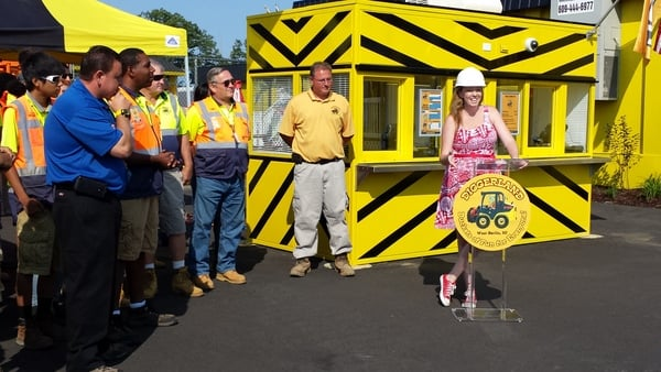 Diggerland USA supports Activation ReACT Elizabeth Norton