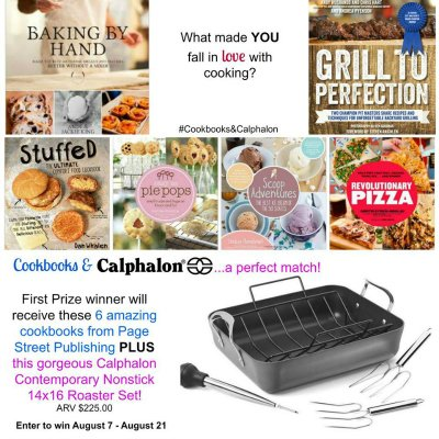 Calphalon and Cookbook first prize images