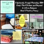 Fabulously Frugal Thursday #80