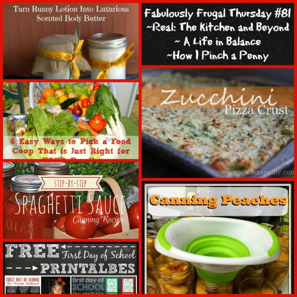 Fabulously Frugal Thursday 81 feautred images