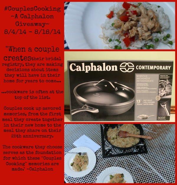 calphalon pan giveaway