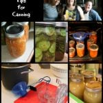 Step by Step Canning Tips for Waterbath Canning