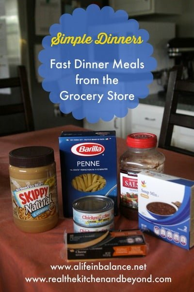 1 Simple Dinners Fast Dinner Meals