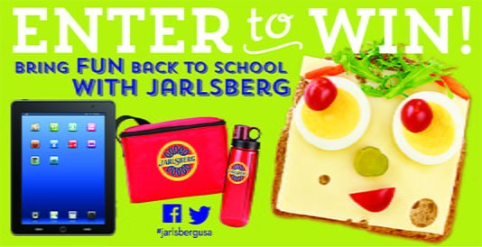Jarlsberg Back to School Giveaway