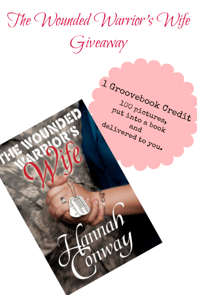 The Wounded Warrior's Wife giveaway