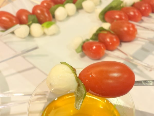 Caprese Skewers Mucci Farms Fresh Summit