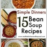 Simple Dinner Recipes: Bean Soup recipes