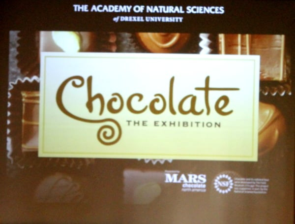 Chocolate Exhibit at Academy of Natural Science  Philadelphia