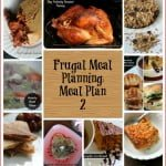 Frugal Meal Planning: Meal Plan 2