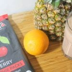Easy Smoothie Recipes: Tropical Cherry Smoothies