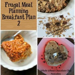 frugal meal planning breakfast plan 2