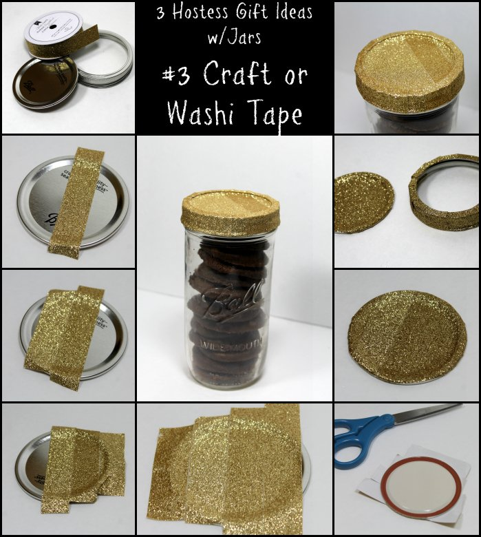 hostess gift idea with craft or washi tape