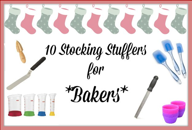 stocking stuffer gift ideas for bakers with products