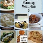 Frugal Meal Planning: Meal Plan 6