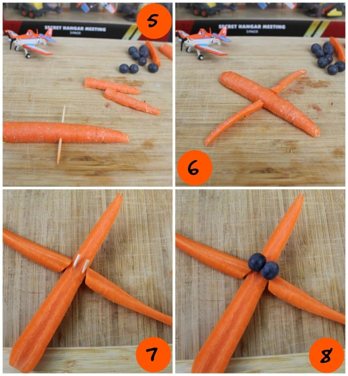 Fun with Food Carrot Plane Tutorial 2 | www.realthekitchenandbeyond.com