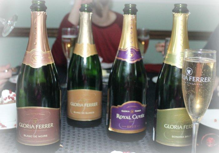 Gloria Ferrer Sparkling Wine | www.realthekitchenandbeyond.com