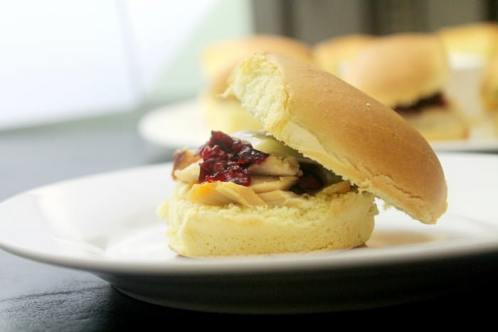 Holiday Party Recipes Chipotle Turkey Cranberry Sandwiches | www.realthekitchenandbeyond.com