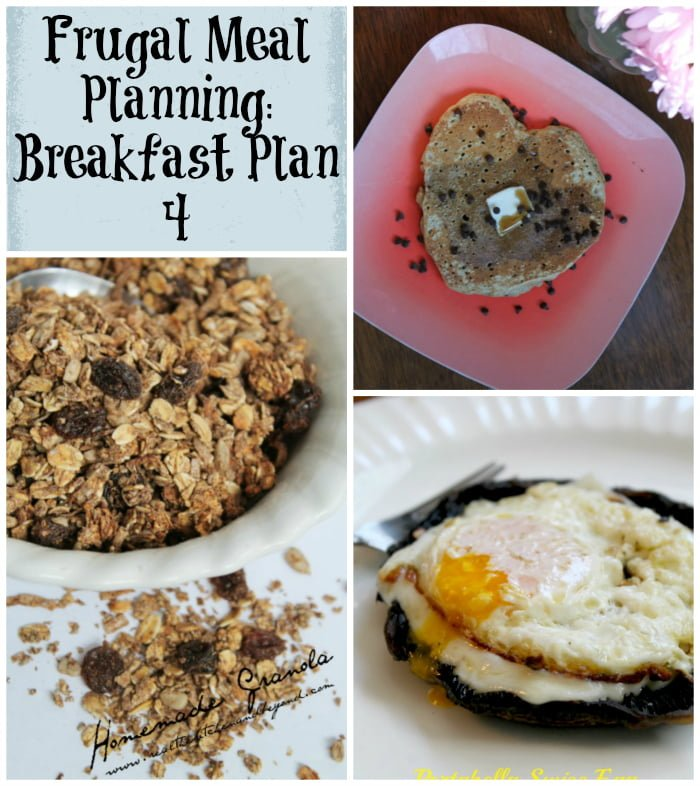 frugal meal planning breakfast plan 4