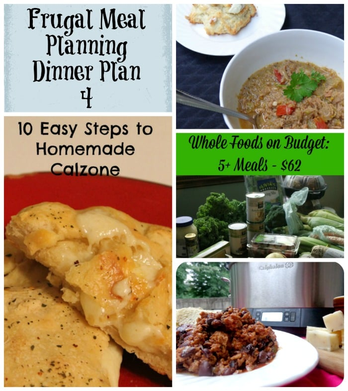frugal meal planning dinner plan 4
