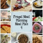 Frugal Meal Planning: Meal Plan 4