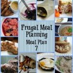 Frugal Meal Planning: Meal Plan 7