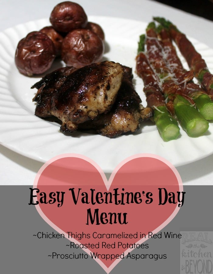 An easy valentines menu plus giveaway with whole foods real easy valentines day menu realthekitchenandbeyond forumfinder Gallery