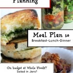 Frugal Meal Planning: Meal Plan 10