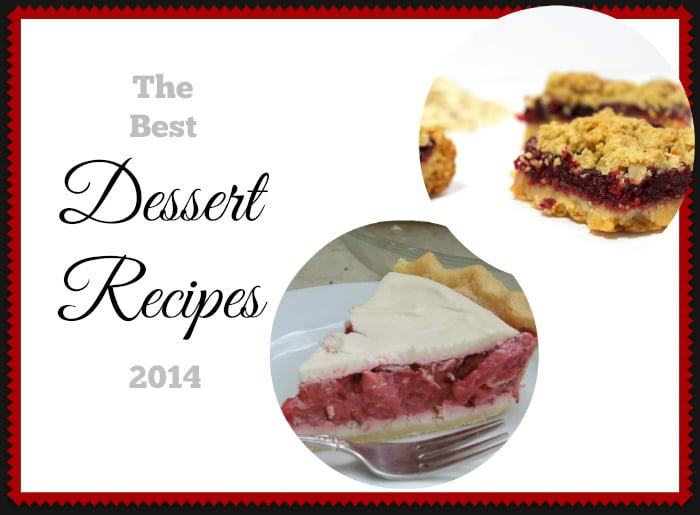 best recipes 2014 dessert recipes