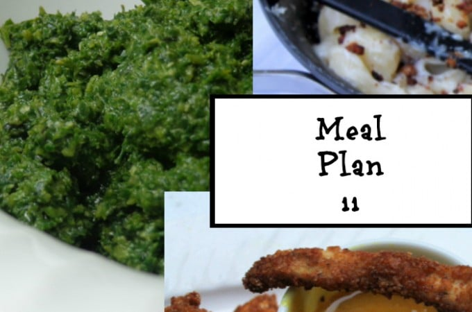 Frugal Meal Planning: Meal Plan 11