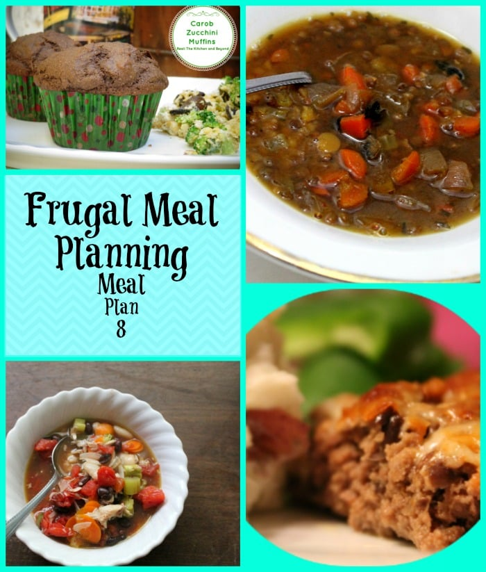 Frugal Meal Planning: Meal Plan 8