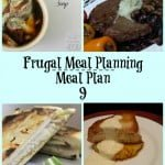 Frugal Meal Planning: Meal Plan 9