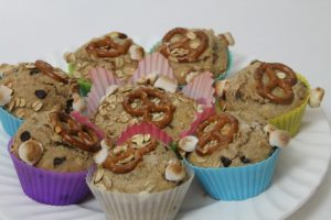 Kids Cook: Trail Mix Muffin Recipe | www.realthekitchenandbeyond.com
