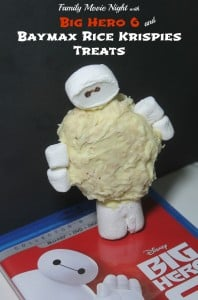 Family Movie Night: Big Hero 6 Baymax Rice Krispies Treats - www.realthekitchenandbeyond.com